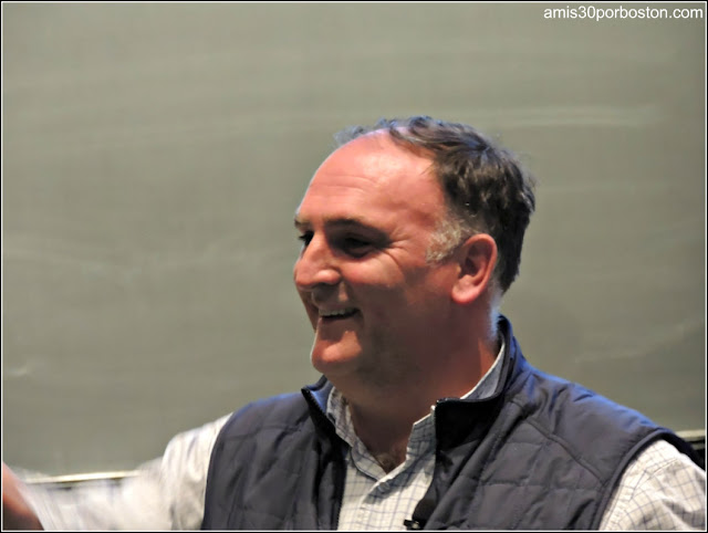 José Andrés en el Science and Cooking de la Universidad de Harvard