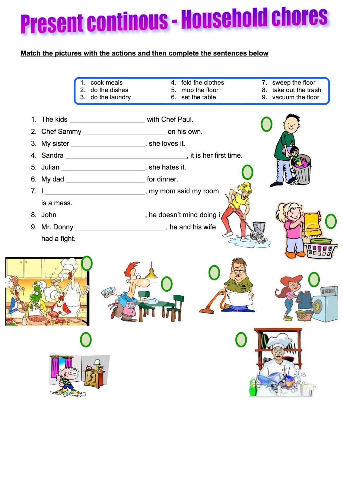 Maru S Blog Present Continuous Presentation Lesson