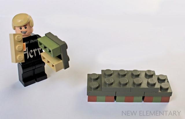 Lego Tan Brick 1X3 15 Pieces NEW