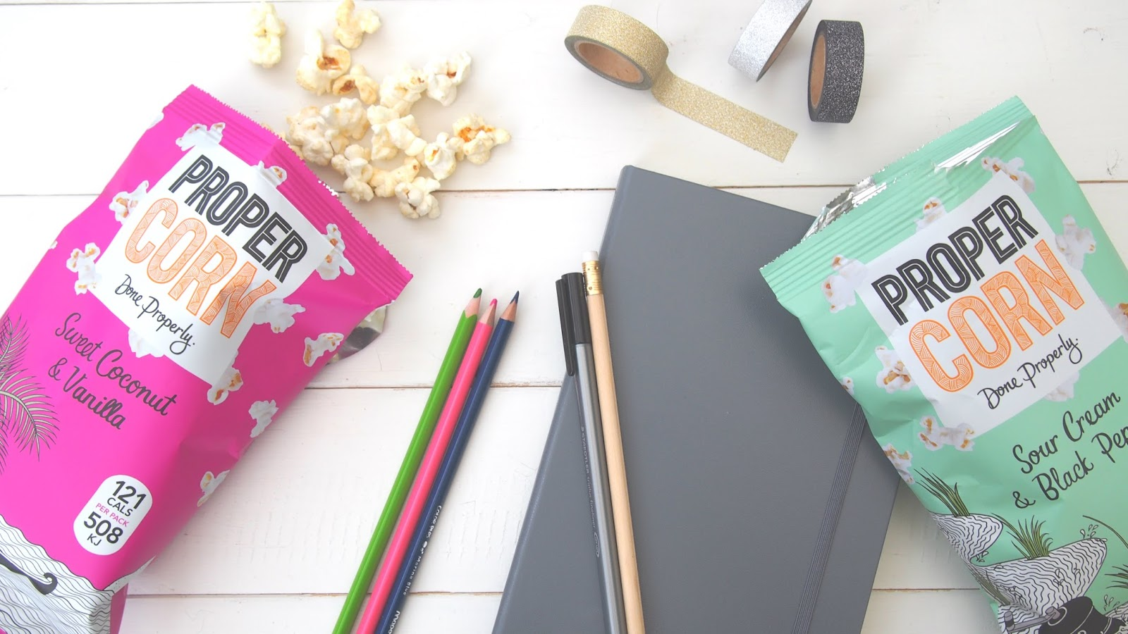 Healthy snacking with PROPERCORN
