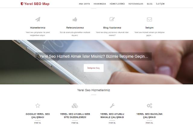 Yerel SEO MAP #Referans3