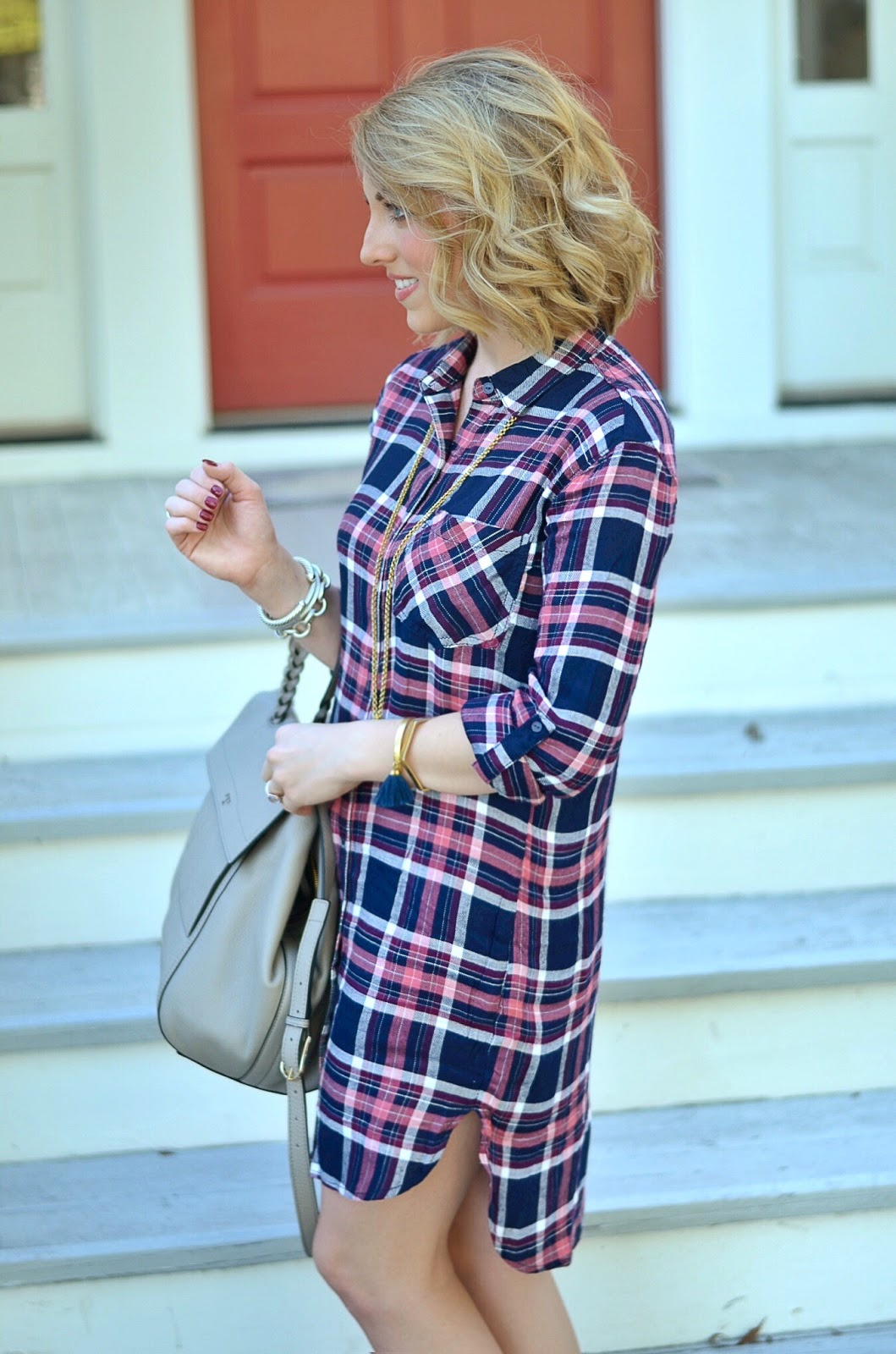 Plaid Dress