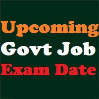 Gujarat Upcoming Govt Job Exam Dates 2017-18