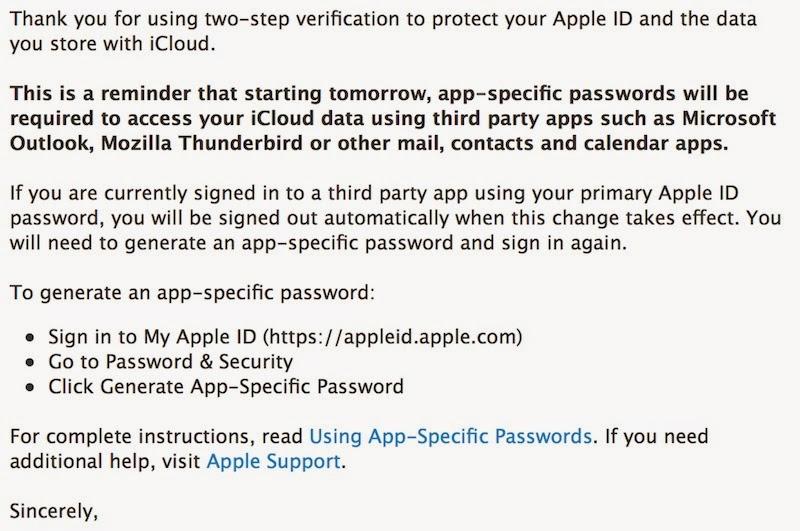 Seguridad Apple: Apple despliega Passwords de Aplicación en