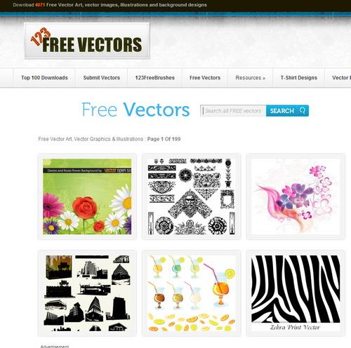 أفضل 10 مواقع لتحميل الفكتور مجانا (2) - مدونة Blog4Prog
