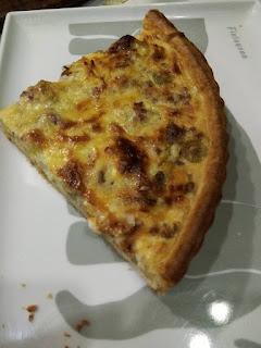 Recette du quiche facile avec une pâte sans beurre et sans œufs