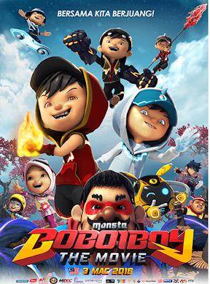 Download Film BoBoiBoy: The Movie (2016) Ganool Movie