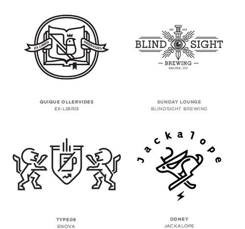 Trend Desain Logo 2016 - Monoline Logo Design