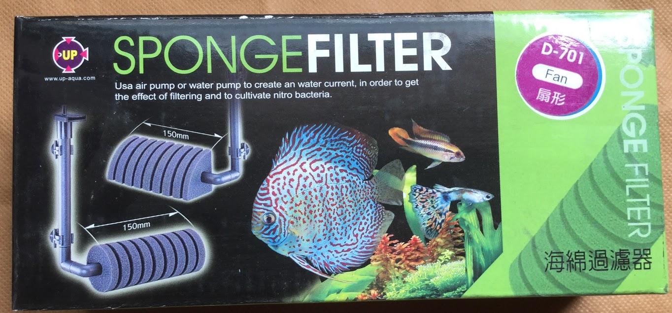 Lọc hơi Up Aqua thích hợp cho những bể thủy sinh nuôi cá, tép