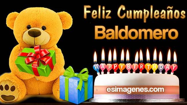 Feliz Cumpleaños Baldomero