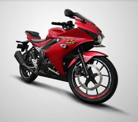 Harga dan Warna Baru Suzuki GSXR150 Matt Red 2019