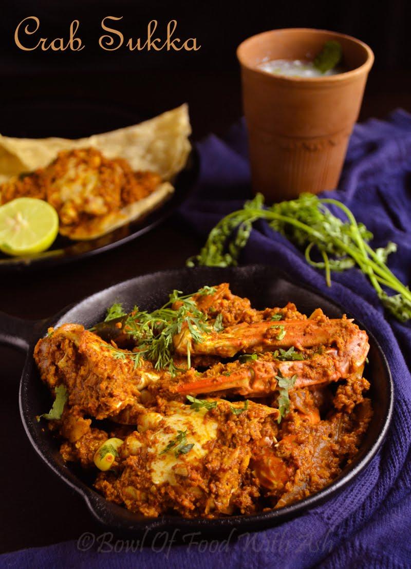 Crab Sukka Recipe | How To make Mangalore Style Crab Sukka