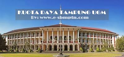 DAYA TAMPUNG SBMPTN UGM 2018/2019