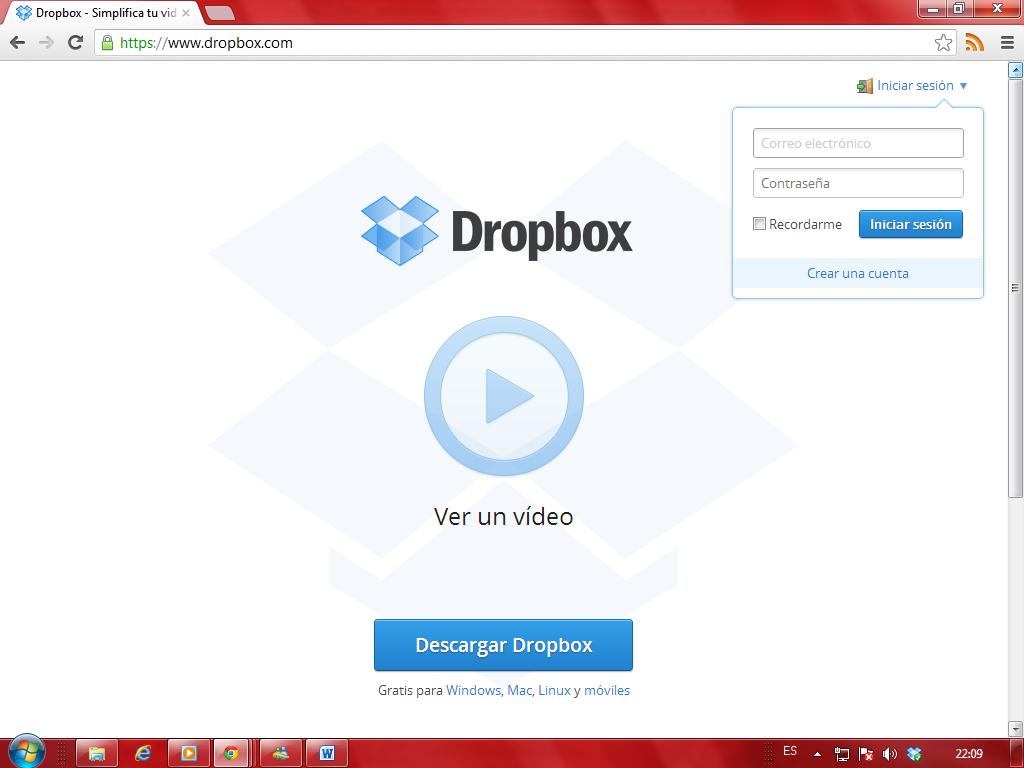 Dropbox descargar