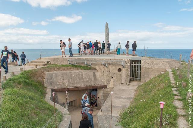 Pointe du Hoc viaje Normandia Francia viaje