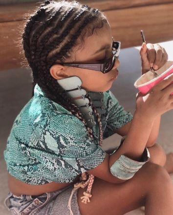 Kim Kardashian shares adorable photo of her 'fashionista' daughter North West
