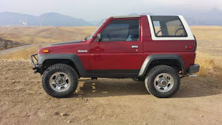 1990 Daihatsu Rocky 4x4 Manual Transmission
