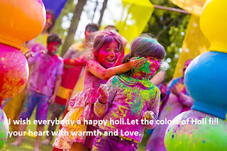 Happy Holi Messages Images