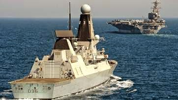 HMS Defender Joins US Fight With Islamic State