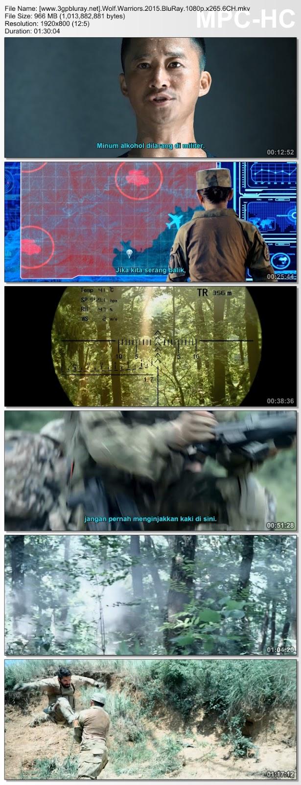 Screenshots Download Film Gratis Hardsub Indo Zhan lang (2015) BluRay 480p MP4 Subtitle Bahasa Indonesia 3GP
