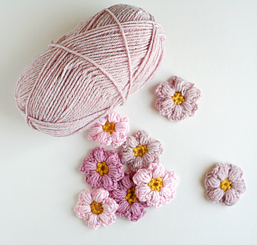 Sweet And Simple Magazine Crochet Flowers