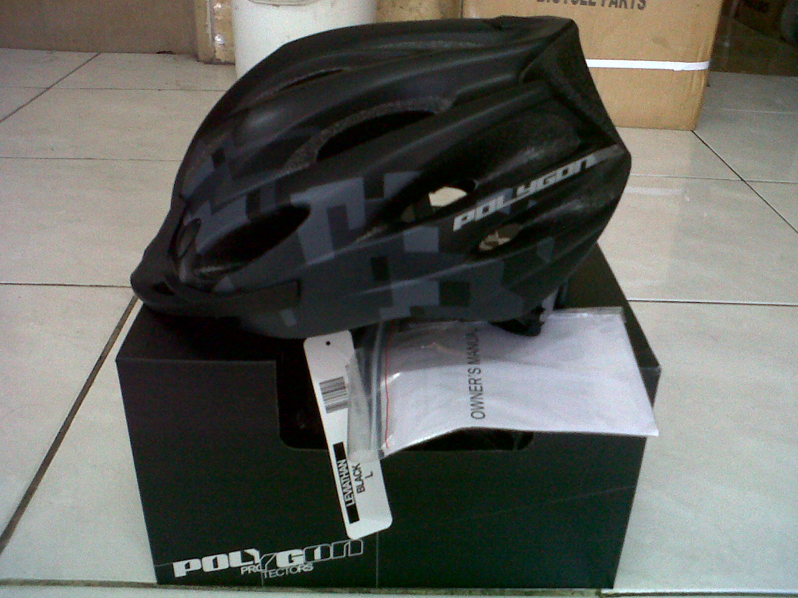 Helm Polygon LEVIATHAN Harga Rp. 150,000, Serba sepeda