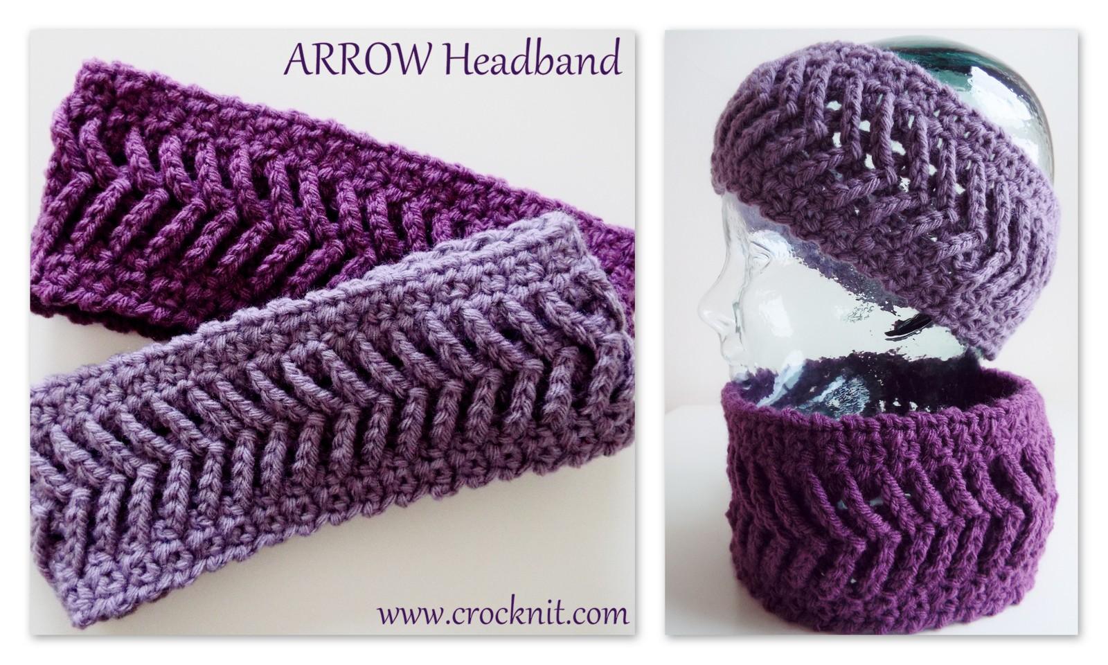 Microcknit Creations Arrow Heads Crochet Patterns