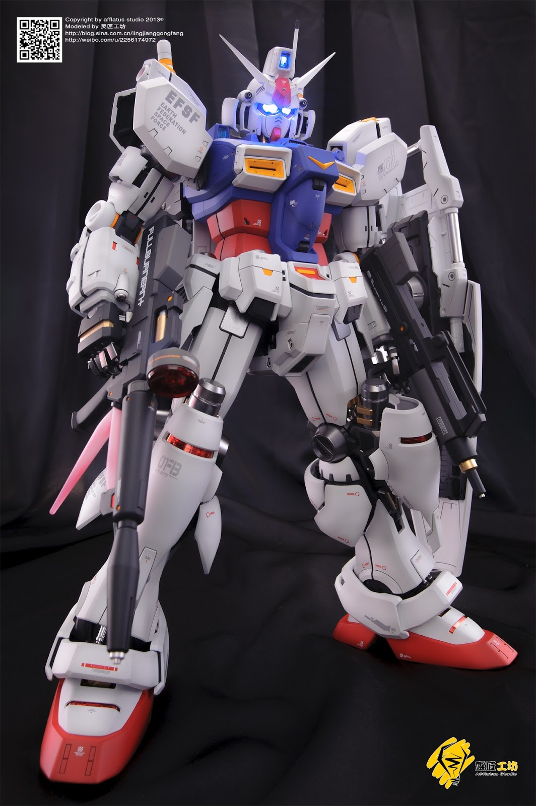 Custom Build: PG 1/60 RX-78GP01 Gundam GP01 Zephyranthes