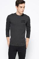 Pulover din tricot subțire cu lână • Diesel