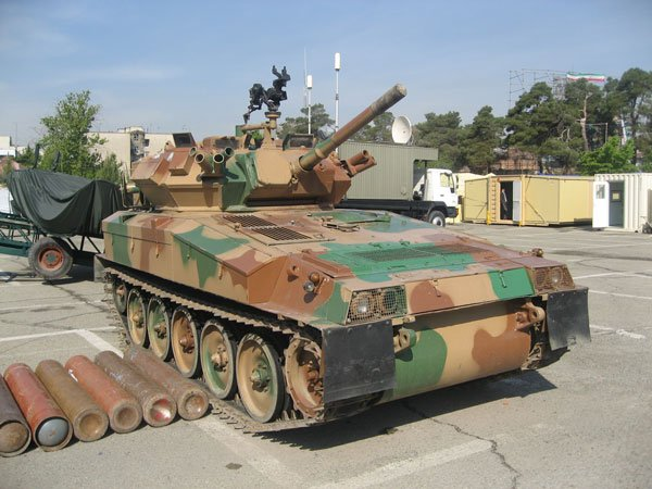 Tanque aerotransportable: Tosan (Irán) - DFNS.net en Español