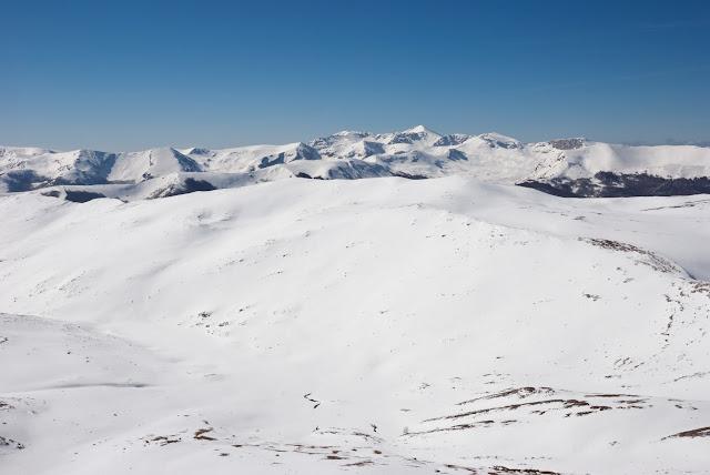 Valle di Settacque da monte Ocre