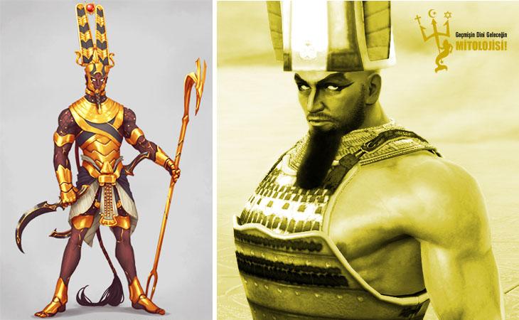 A, mısır mitolojisi, Amon,Amun,Amen,Amon Ra,Mısır tanrısı Amon,Mısır tanrıları,Karnak tapınağı,Theban tanrısı,Firavun tanrı,mitoloji