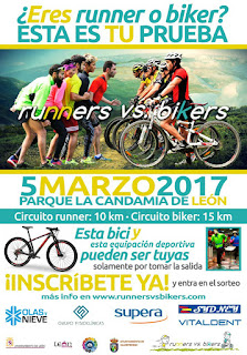 Carrera Runners contra Bikers
