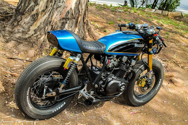 Suzuki GS400 By Dino's Cycles Hell Kustom
