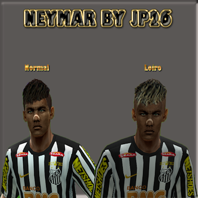 Neymar HD 2 Versions by JP26 - Pro Evolution Soccer 6 at