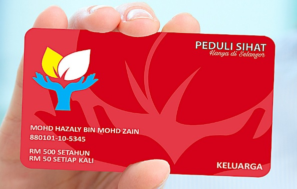 Permohonan Kad Peduli Sihat Selangor Asia Nanban