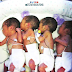 Pastor Adeboye's wife looks after the quadruplets born at Redemption Camp... photos