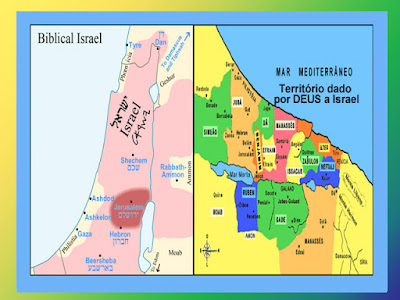 Terras dadas por Deus a Israel