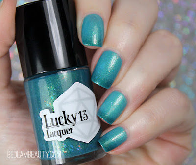 Lucky 13 Lacquer   Secretly a Mermaid