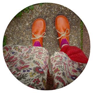 New orange shoes!