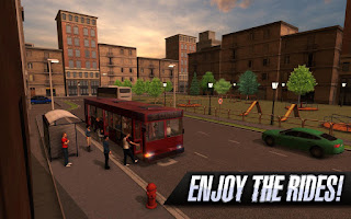 simulation Android game titled Bus Simulator Foneboy Bus Simulator 2015 APK Android Game Download + Review