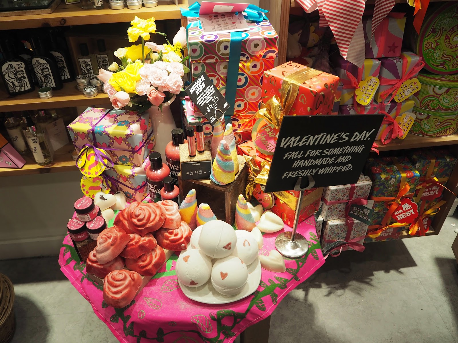 Lush Valentine's Day Collection | Katie Kirk Loves