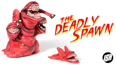 The Deadly Spawn Vinyl Figure Kickstarter Campaign by Justin Ishamel