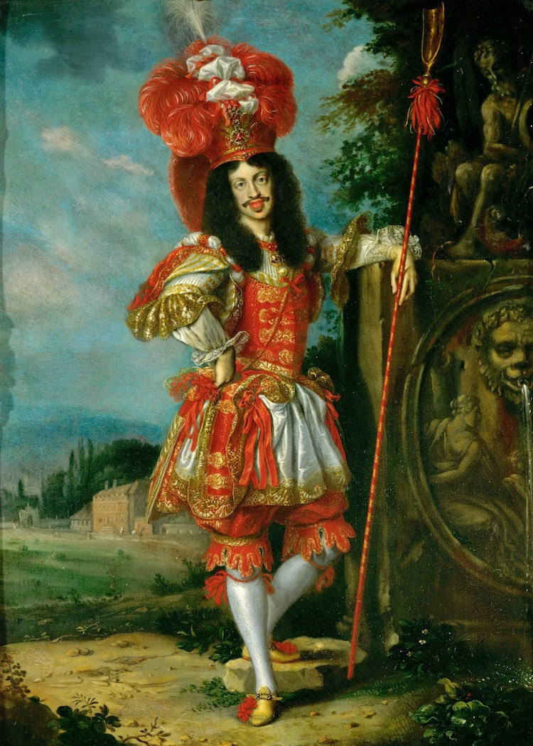 Bob Thomas Ford West >> Gods and Foolish Grandeur: Portraits of Leopold I and Margarita Teresa in theatrical costume, by ...