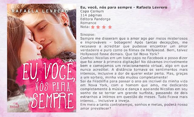 Eu, Você, Nós Para Sempre - Rafaela Levrero
