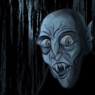 Nosferatu caricature by Hammerson
