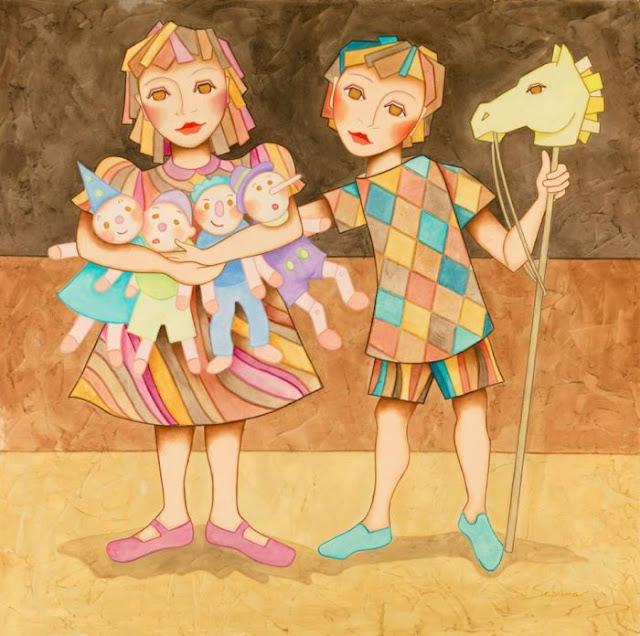 Женщины и дети. Sabrina Pinto