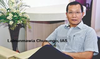 Principal Secy Lalnunmawia Chuaungo
