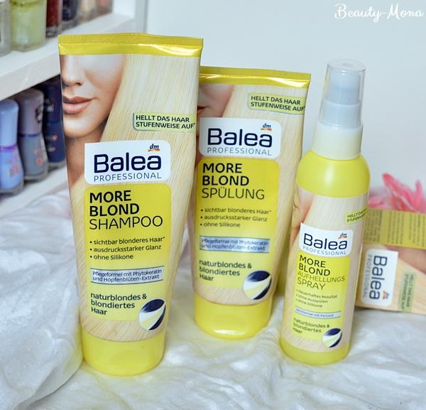 Beautylifeous Blog Balea More Blond Haarprodukte Review