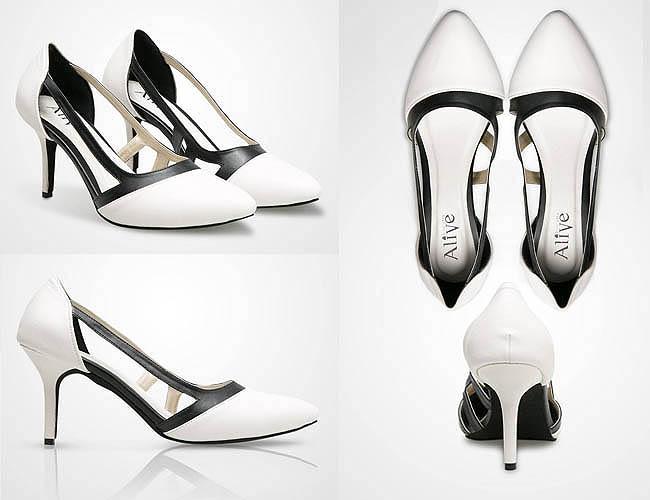 High heels cantik karena desainnya unik